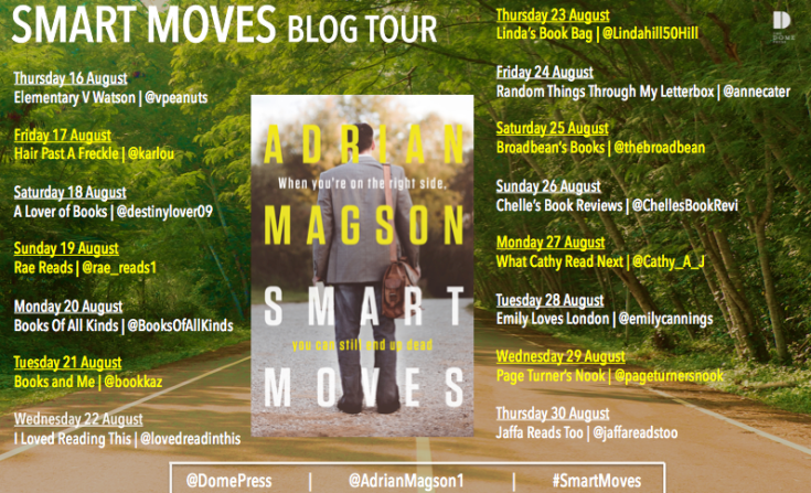 Smart Moves Blog Tour Poster