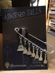 Abhorsen Bells Pin designed by @hannahhitchmanart