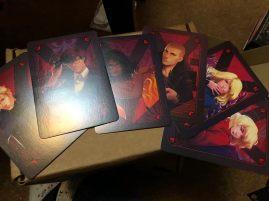 Villians Card Set designed by @kiranight_art