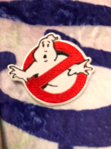 Ghostbusters Iron-On Patch designed by LitJoy