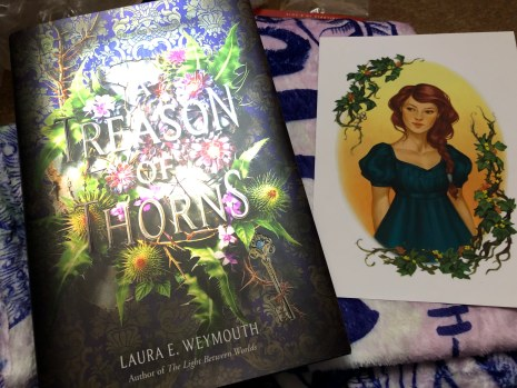A Treason of Thorns by Laura E Weymouth and Letter