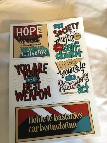 Vinyl Stickers created by Nerdy Ink