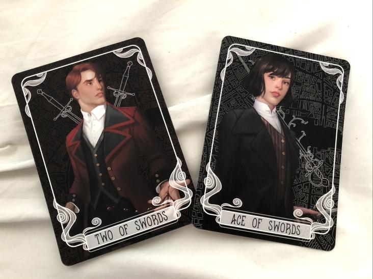 Tarot Cards created by Gabriella Bujdoso