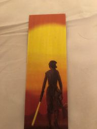 Star Wars Wooden Bookmark created by In The Reads