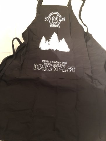 Raven Cycle inspired Apron Created by Paperback Bones