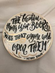 This Savage Song inspired Trinket Tray